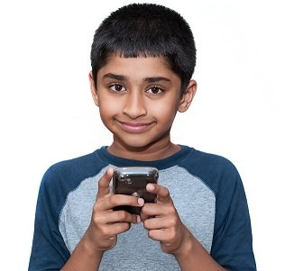 Monitoring Children with a mobile