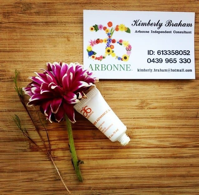 arbonne re9 skin care review