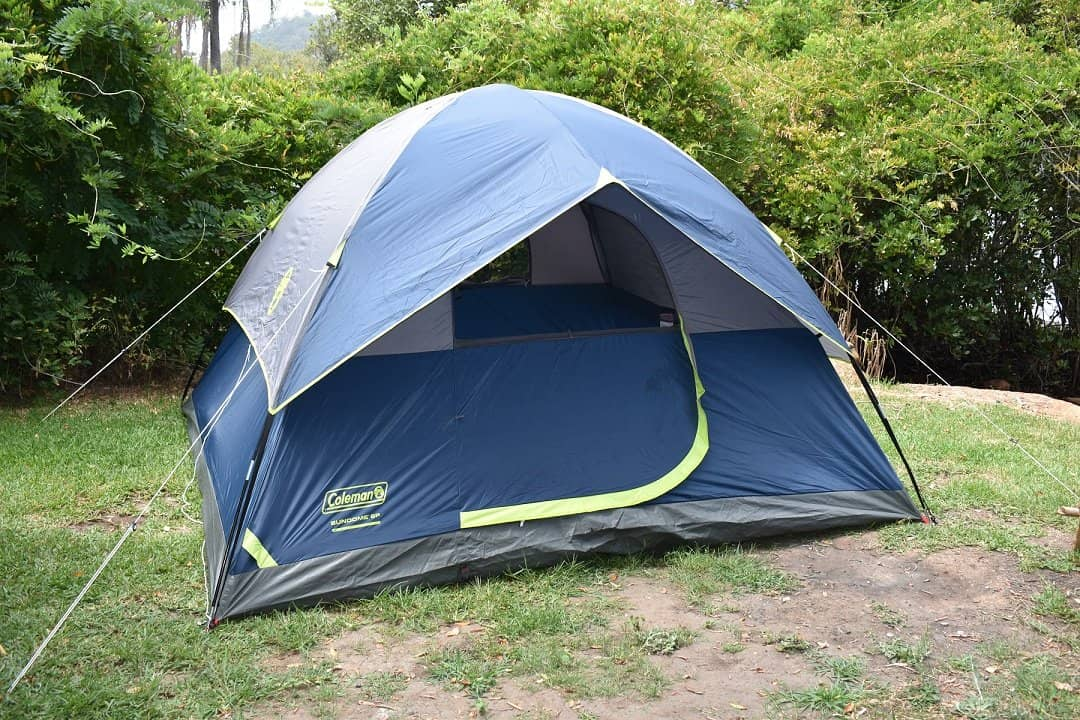 Coleman Sundome Tent a 4-6 Person Dome C&ing Tent & Read our Review of the Coleman Sundome Tent 4-6 Person Tent