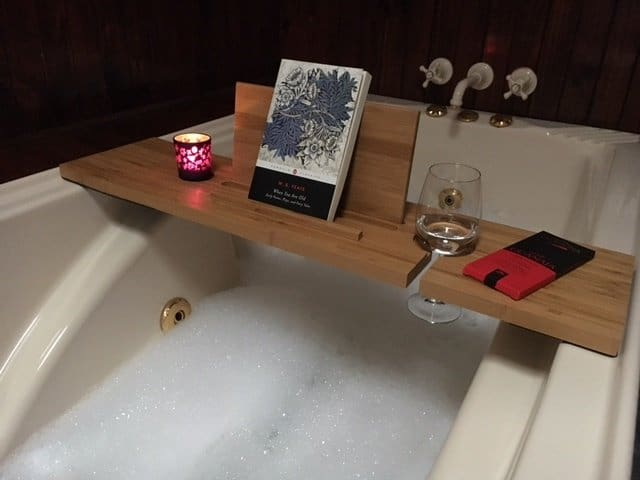Relax-A-Mate Premium Bath Shelf the ultimate way for mum to relax