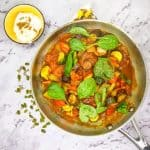 Indian vegetable curry  – a Gluten Free Family Dinner